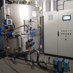 Kalkmiksesystem levert og installert